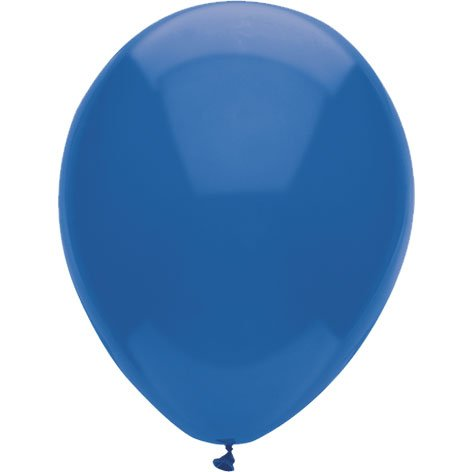 "PIONEER BALLOON COMPANY Latex Balloon, 11"", Midnight Blue - 1"