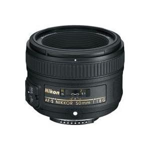 Nikon 50mm f/1.8G AF-S Nikkor Lens - Gray Market