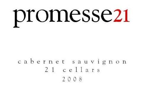 "2008 21 Cellars ""Promesse 21"" Reserve Cabernet Sauvignon 750Ml"