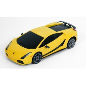 31EYoxn0o5L Rastar 1:24 Scale Lamborghini Gallardo Superleggera Radio Controlled Car (Yellow)