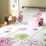 Home Aspirations Retro Daisy Duvet Set - Kingsize. Special Clearance Offer!