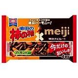 亀田製菓 柿の種チョコ&アーモンド4袋詰 12袋