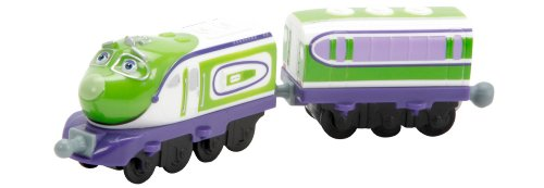 Chuggington StackTrack Chug-A-Sonic Koko and Passenger Car