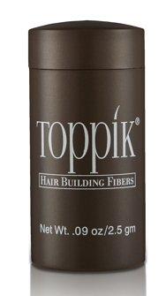 Toppik Hair Building Fibers - Black 0.09 oz. small travel size