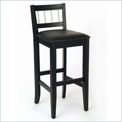 Manhattan Pub Stool - Black