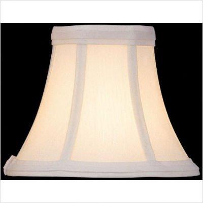 Lite Source CH508-6 Candelabra Shade, White