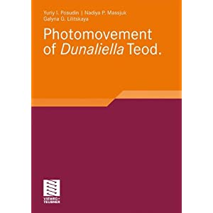 Photomovement Of Dunaliella Teod (German Edition)