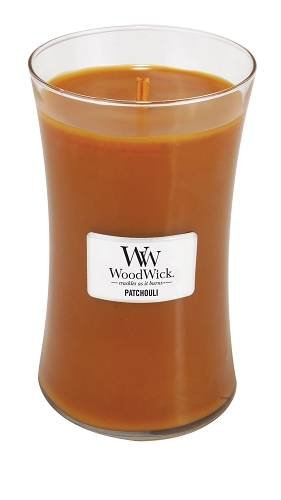 WoodWick Patchouli Fragrance Jar Candle, Large