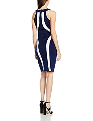 Paper Dolls Women's Cream Illusion Dress
