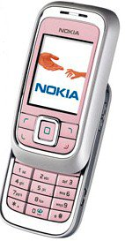 Nokia 6111 frosted pink Handy