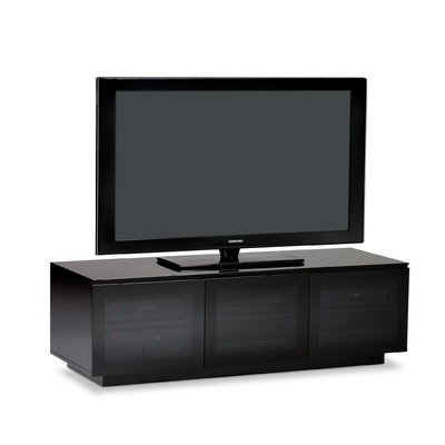 Cheap Mirage 61″ TV Stand in Black (B007R8IO56)