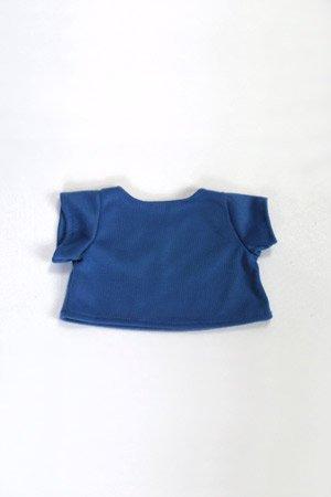 Royal Blue Basic Tee Shirt Teddy Bear Clothes