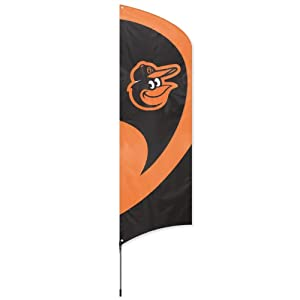 Party Animal Tall Team Flag w Pole by Party Animal