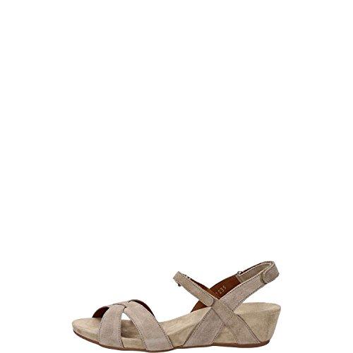 BENVADO VIOLA sandalo cam. sabbia zeppa 3cm. (3.5 UK)