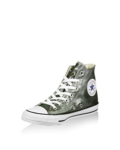 Converse Zapatillas abotinadas Chuck Taylor All Star Plateado EU 42