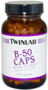 B-50 Capsules, 100 Capsules by Twinlab