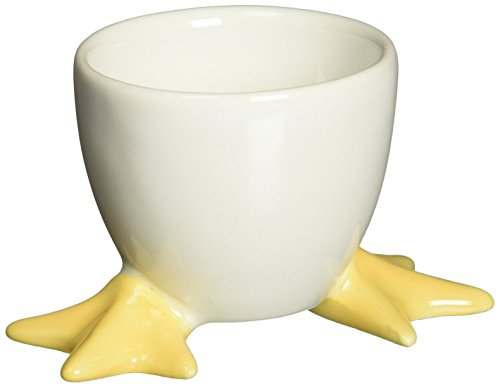 Abbott Collection Egg Cup With Chick Feet (Egg Cups Chicken Feet compare prices)