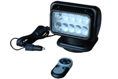 20514-M Golight Wireless Remote, LED Spotlight - 900' Beam - Black - 200lb. Magnet (Wireless Remote Spotlight compare prices)