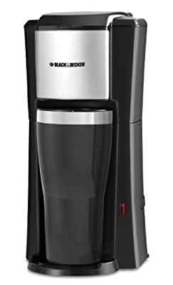 Black & Decker Single Serve Coffee Maker, Black from Applica Incorporated/DBA Black and Decker