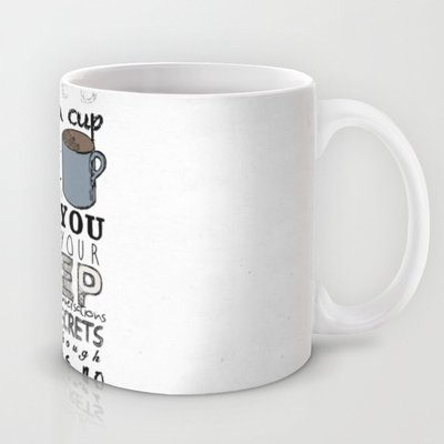 Society6 - One Direction: Little Things Coffee Tea Mug By Mafleur