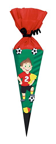 Ursus 9860003 - Schultüten Bastelset Mini Fußballer, 41 cm, bunt