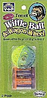 Vo-Toys Ferret Plastic Soccer Ball with Wagon Wheel Toy