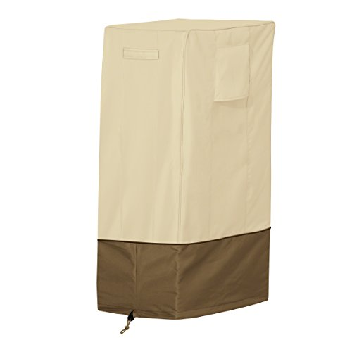 Read About Classic Accessories 55-570-011501-00 Veranda Square Smoker Cover, Tall
