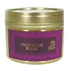 VICTORIAN PLUM - Shearer Scented Candle - TIN - 20 Hours