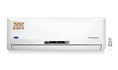 Carrier 24K Duraedge Plus K+ Split AC (2 Ton, 3 Star Rating, White)