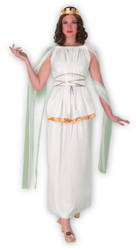 Athena Greek or Roman Goddess Costume - Womens Size 12-14
