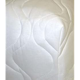 Sheetworld - Quilted Fitted PACK n PLAY Mattress Pad (Graco) - Made In USA