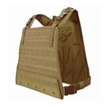 Condor Special Operation Compact Molle System Ready Vest, Ideal for Airsoft Gaming- Tan