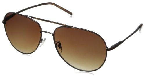Calvin Klein CWR143SL 200 Aviator Sunglasses, Chocolate, 16 mm