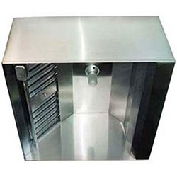 "Larkin Industries Sc Commercial Range Hood - Make-Up Air Hood 48""Wx7 Ft. Long, Stainless Steel front-877"