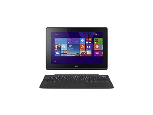 Acer Aspire Switch 10 SW3-013 Detachable 2 in 1 tablet PC Laptop 10.1-inch Touchscreen In-plane Switching (IPS) Technology intel Z3735F Quard-core 1.33GHz (64GB White)