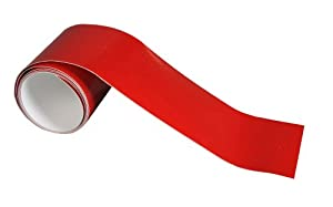 3M Scotchlite Reflective Tape, Red, 2-Inch by 36-Inch