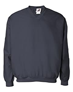 Badger Men's Performance Microfiber Windshirt, Navy X-Large