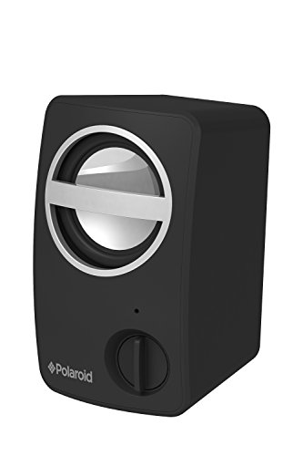 Polaroid Pbt501Bk Universal Wireless Bluetooth Mini Speaker For Smartphones And Tablets (Black)