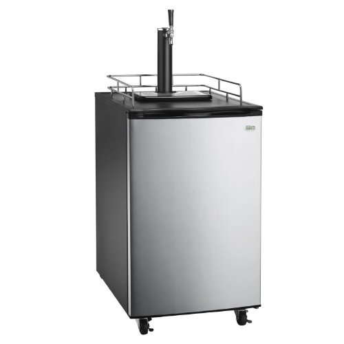 Great Northern Stainless Steel Kegerator Beer Dispenser Refrigerator