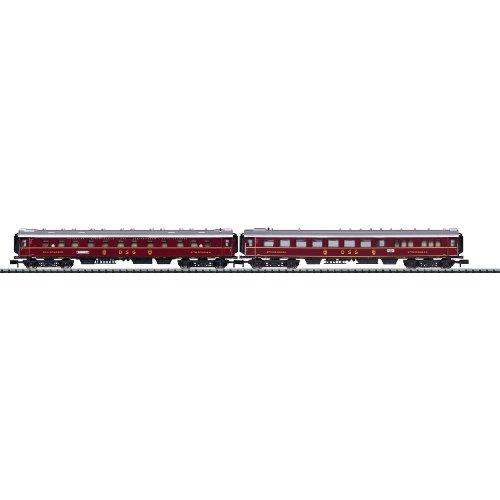 Trix DSG Express Train N Scale Passenger Add-On Set