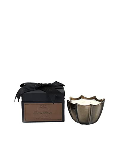 D.L. & Co. 10-Oz. Burnt Sienna Scallop Candle