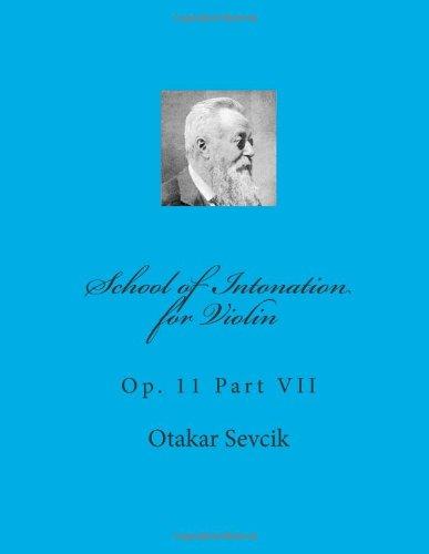 School of Intonation for Violin: Op. 11 Part VII