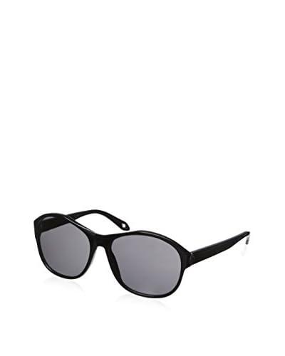 Givenchy Women's SCV 872 Sunglasses, Shiny Brown  [Shiny Black]