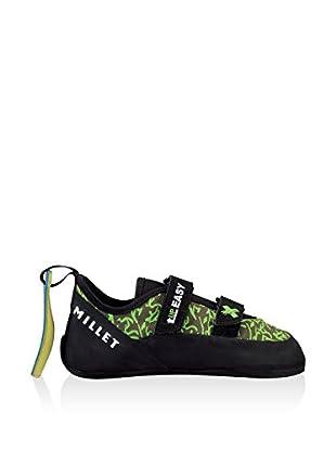 MILLET Zapatillas Easy Up Junior (Negro / Verde)