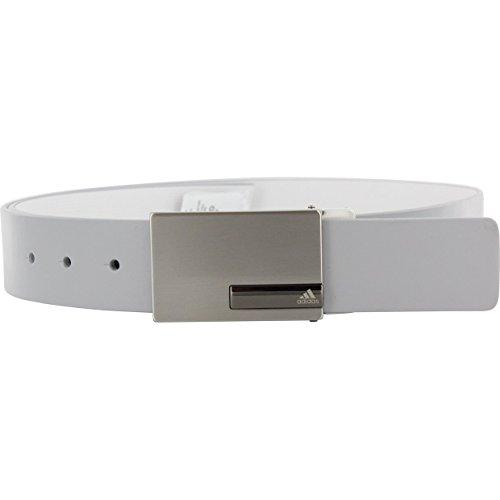 adidas Golf Reversible Belt, Mid Grey/White