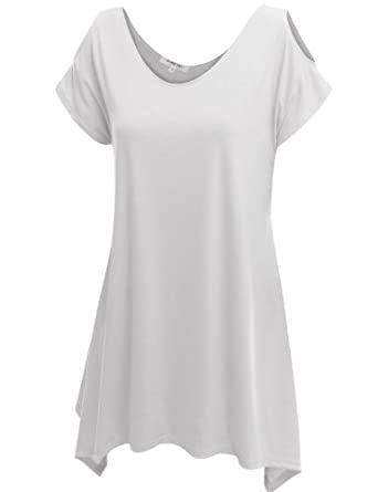 Doublju Fitted Basic Tank Cami Tops WHITE (US-S)