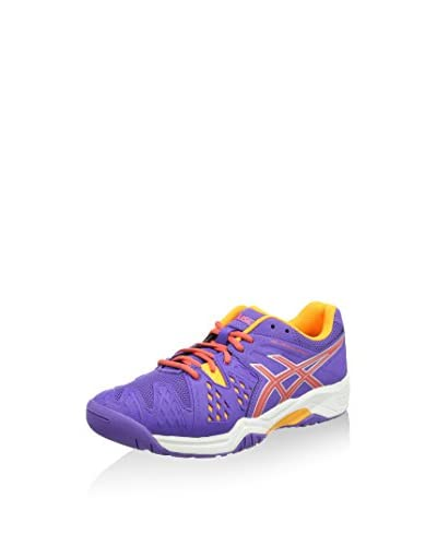 Asics Scarpa Sportiva Gel-Resolution 6 GS  [Viola/Arancione]