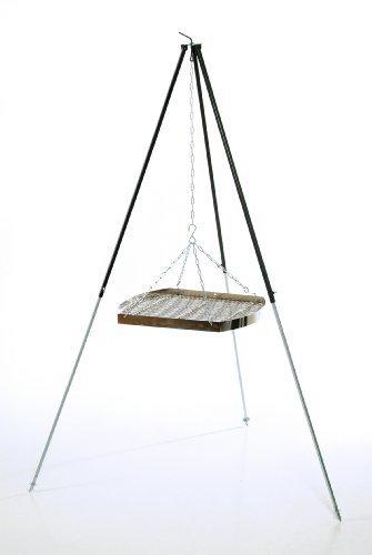 original ungarisches Dreibein 1,80 m mit Grillrost 60 cm – Grillrost verchromt online bestellen