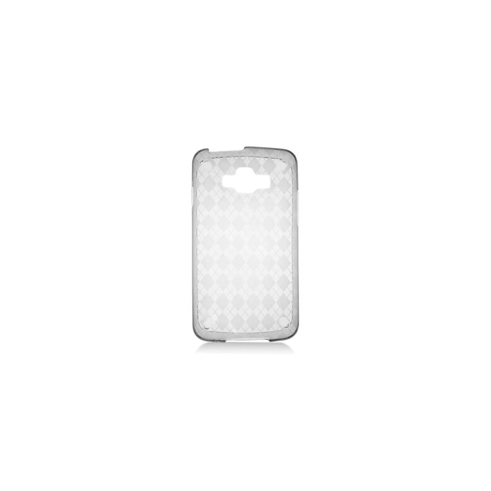 HHI Samsung SGH i847 Rugby Smart TPU Rubber Skin Case with Inner Check Design   Clear (Package include a HandHelditems Sketch Stylus Pen)