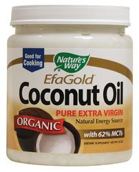 Nature's Way EfaGold. Organic, Pure Extra Virgin Coconut Oil, 32-Ounce Tub